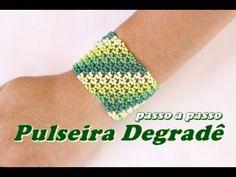 NM Bijoux - Pulseira Degradê - passo a passo - YouTube