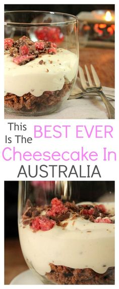 The best ever easy no bake cherry ripe cheesecake that has to be tried ...