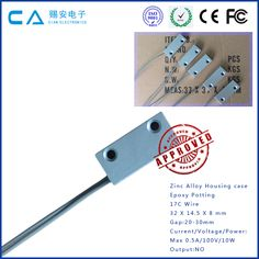 Door Magnetic Contact for Intruder Alarm Systems