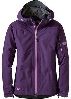 Outdoor Research Aspire Jacket - Women's Elderberry M