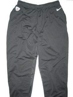59d02482 Alex Tanney Indianapolis Colts #3 Training Worn Dark Gray Nike Dri-FIT XL  Sweatpants