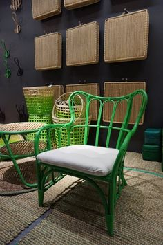 green wicker furniture cushions. deck inspiration | pinterest rattan, wicker furniture and paint green cushions h