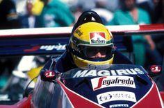 Ayrton Senna  Toleman - Hart 1984