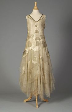 Evening Dress late 1920s | Fripperies and Fobs