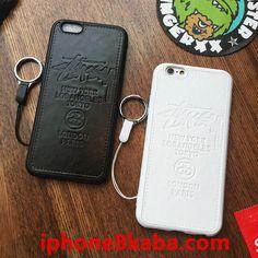 iPhone7 plus ケース stussy ペア ストラップ