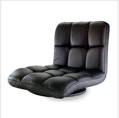 Clever Leather Chair 360 Degree Swivel Living Room Furniture Meditation Seat Japanese Style Tatami Zaisu Floor Legless Chair Design Good Reputation Over The World Home Furniture Furniture