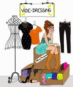 Affiche vide dressing fassent design pinterest dressings for Dessin dressing