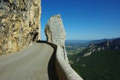 Combe Laval, France. Often called the most magnificent road in the French Alps, Combe Laval was constructed in 1897