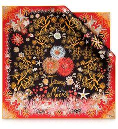 Enchanting Dior scarf.