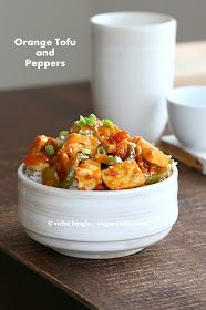 Vegan Richa: Spicy Orange Tofu and Peppers and a Giveaway. Vegan Glutenfree Recipe