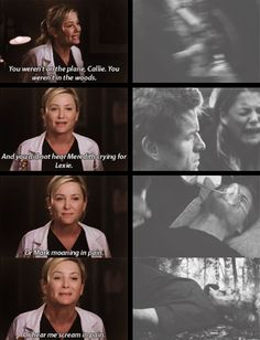"""You didn't lost anything"" Arizona and Callie fighting, Calzona on 10x24"