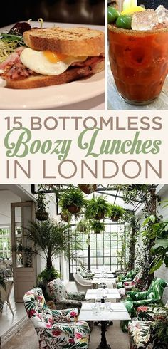 15 Bottomless Boozy Brunches In London - Noted for when I am ever in London. I love brunch! London Food, London Eats, Bars In London, Voyage Europe, Things To Do In London, London Places To Eat, European Vacation, England And Scotland, London Restaurants