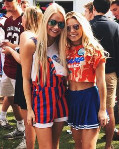 The gameday outfits at the University of Florida you don't want to miss! We have everything that your gameday wardrobe needs. College Football Games, College Game Days, University Of Florida, Indiana University, College Fashion, College Outfits, College Style, College Life, School Outfits