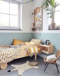 Creative girls bedroom ideas for your child and teenager 00032 – Home Design Girls Bedroom, Bedroom Decor, Unisex Bedroom Kids, Kids Bedroom Paint, Childs Bedroom, Kid Bedrooms, Nursery Decor, Baby Dekor, Ideas Habitaciones