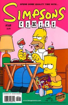 simpsons comic 169 | Simpsons Comics #169 - Bart Like Me on Comic Collector Connect