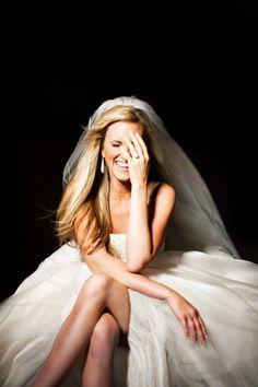 Great studio Bridal portrait