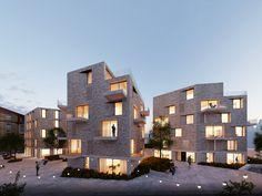 1. Preis: Blick in den Hof, © steimle architekten