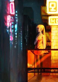 Night Out by Dora Ingrid