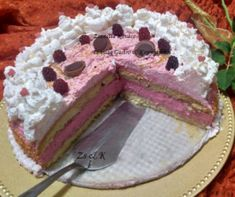 Raspberry Cubes Without Baking With Recipe - Mindmegette.hu - R .hu – Receptek Raspberry Dice Without Baking Recipe with the image of: Mindmegette. Mexican Pastries, Vegan Pastries, Pastry Tattoo, Shortcrust Pastry, Izu, Baking Recipes, Raspberry, Cubes, Food