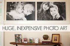 Pine Street Days: Huge, Inexpensive Photo Art