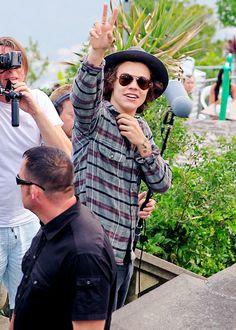 Harry in Brazil