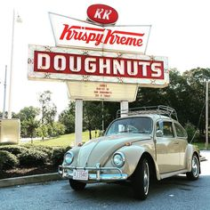Doughnuts and Vintage VW, doesn't get any better than this!