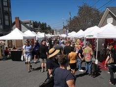 Coupeville Arts & Crafts Festival, Whidbey Island