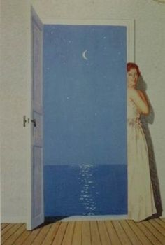 RENE MAGRITTE 1962 Portret van Germaine Nellens / Portrait de Germaine Nollens