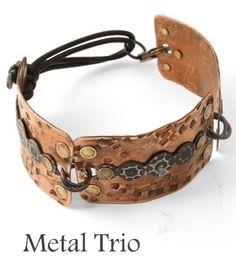 LOVE this metal cuff. Lots of great stuff on this blog too.