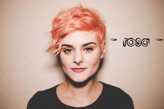 - rosa - @ Contrasto Aveda hair salons