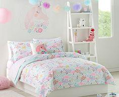 Pastel Unicorns & Flowers Girls Full Comforter Set (7 Pie... https://www.amazon.com/dp/B071Z4BWVH/ref=cm_sw_r_pi_dp_x_9oOwzbVTQ3DQV