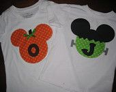 Halloween Mickey Mouse.... via Etsy.