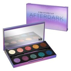 With late-night rendezvous in mind, we created the Afterdark Palette, the perfect shadow collection for night owls. This jewel-toned collection contains 10 sultry shades of Eyeshadow—seven NEW and thr