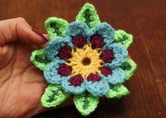 Flowers! #freepattern #crochet #tutorial