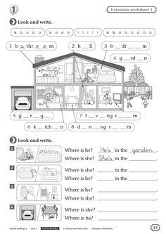 English Grammar Worksheets, Vocabulary Worksheets, School Worksheets, Worksheets For Kids, English Vocabulary, Primary Teaching, Teaching Time, Learning English For Kids, Teaching English