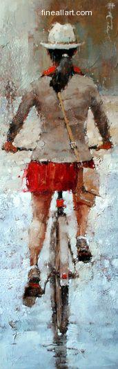 Andre Kohn The City Gal series #12