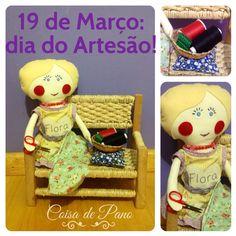 Boneca de pano! www.coisadepano.blogspot.com www.facebook.com/coisadepanobabi