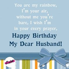 Birthday Wish For Husband, Happy Birthday Me, Birthday Wishes, Birthday Gifts, Nice Birthday Messages, Message For Husband, Colorful Wallpaper, Love Him, Prayers
