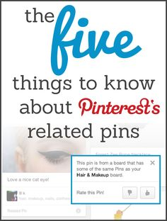 The 5 Things to Know About Pinterest's Related Pins - #Pinterest via #BornToBeSocial