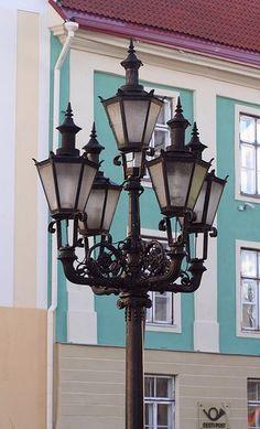 Lantern in Tallinn, Estonia