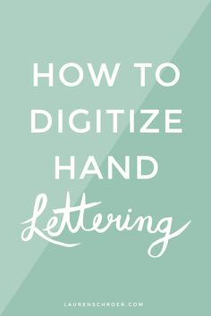 Ever wonder how to get hand lettering from your sketchbook onto your  computer? Today I'm going to show you how! It's really quite a simple  process and once you get the hang of it, it only takes a few minutes to do!    Once you've done your lettering, take a photo of your page (in the best  light you can, if possible), and open it up in Adobe Photoshop. You can  even take the photo on your phone and it'll work! Try to crop any  unnecessary backgrounds (i.e. your desk, the spine of your…