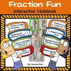 As educators, we certainly know, that to present a truly complex concept, one needs to break it down into more digestible components and in keeping with this analogy, this unit on fractions offers a delectable spread of fun fraction interactives that break down and greatly simplify the teaching of fractions. https://www.teacherspayteachers.com/Product/FRACTION-FUN-INTERACTIVE-NOTEBOOK-COMMON-CORE-ALIGNED-1205503