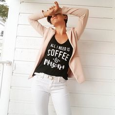 Trendy Fashion Style Women's Clothing Online Shopping - SHOP NOW !         Basically. . . . . . . . #monday #work #outfit #outfitoftheday #ootd #shorthair #girlswithshorthair #blazer #tshirt #fashionista #fashion #style #instastyle #igstyle #styleoftheday #lookoftheday #look #instalook #streetwear #street #streetstyle #fall #fallfashion #fit #strong #fitness…