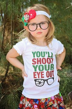 funny christmas shirts girls christmas by DanasDarlingDesign