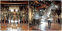 Built back in 1642, the Styrian Armoury in Graz, Austria, is the world's largest historic armory. It contains approximately 32,000 specimens of arms and mi