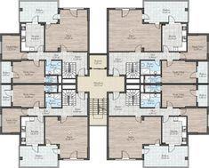 Katta 4 Daire Plani Ile Ilgili Gorsel Sonucu House Design Photos Apartment Architecture House Designs Exterior