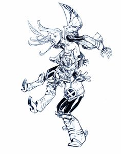 Pixie & Anole by Eric Canete
