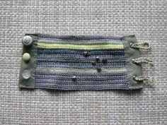 Untitled crochet bracelet | by pompom design