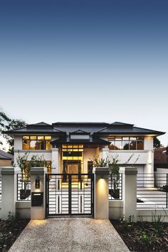 37 Stunning Contemporary House Exterior Design Ideas You Should Copy - Today, contemporary house plans are very intelligently designed to give utmost comfort to the people. These plans not only feature flexible floor spac. Design Exterior, Dream House Exterior, House Goals, Home Fashion, Men's Fashion, Modern House Design, Future House, Beautiful Homes, Architecture Design