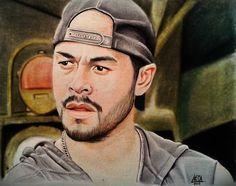 Caezar Martinez (The Walking Dead) #thewalkingdead #josepablocantillo #jose_pablo_cantillo #caesarmartinez #caesar_martinez_draw #draw #art